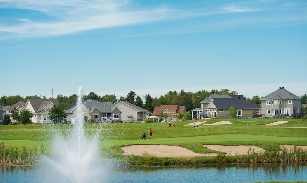 2019 Housing Design Awards Ottawa design awards Ottawa new homes golf course community Kemptville eQ Homes Hobin Architecture