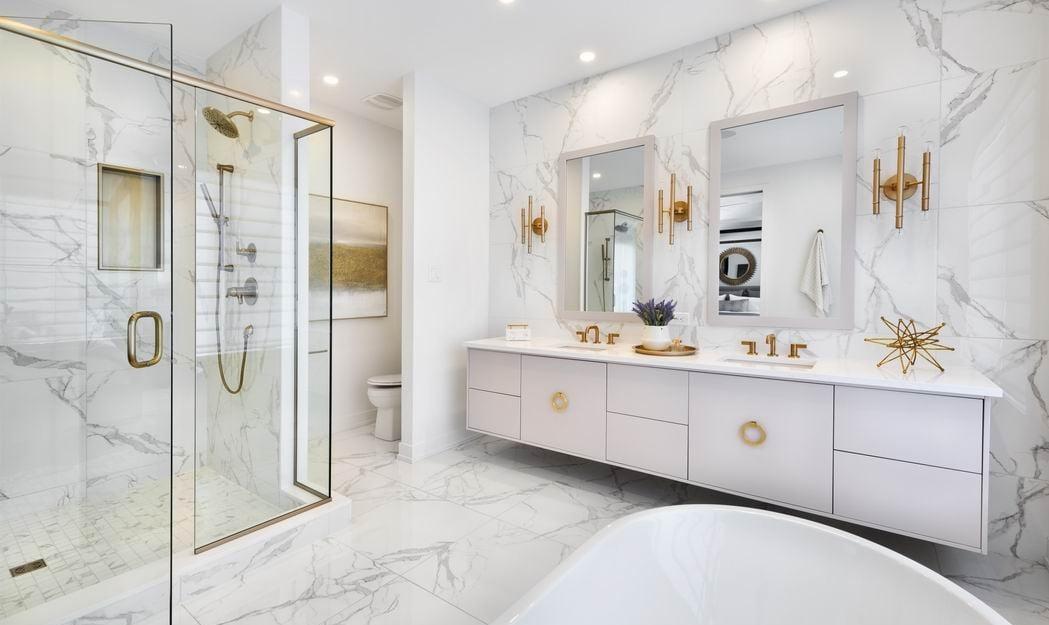 2019 Housing Design Awards Ottawa design awards Minto Communities Tanya Collins Design Ottawa ensuites bathrooms