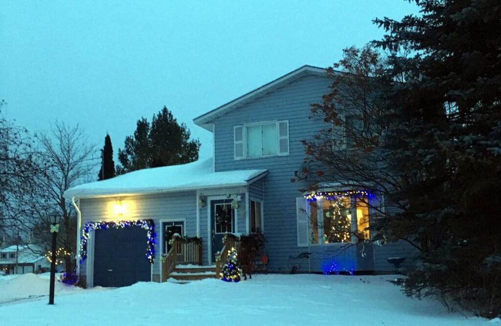 Christmas in Carleton Place House Tour Christmas decorating ideas stone home winter