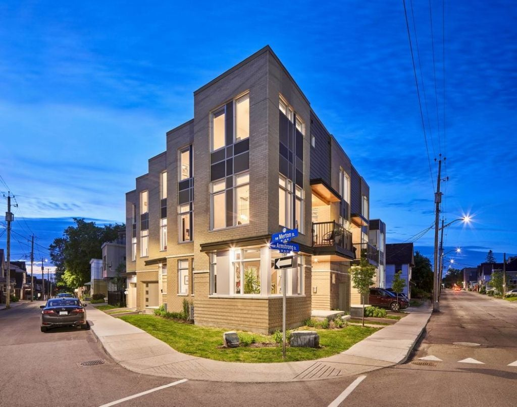 2019 Housing Design Awards Ottawa design awards Rosaline J. Hill Architect Sherbrooke Urban Developments custom home Ottawa