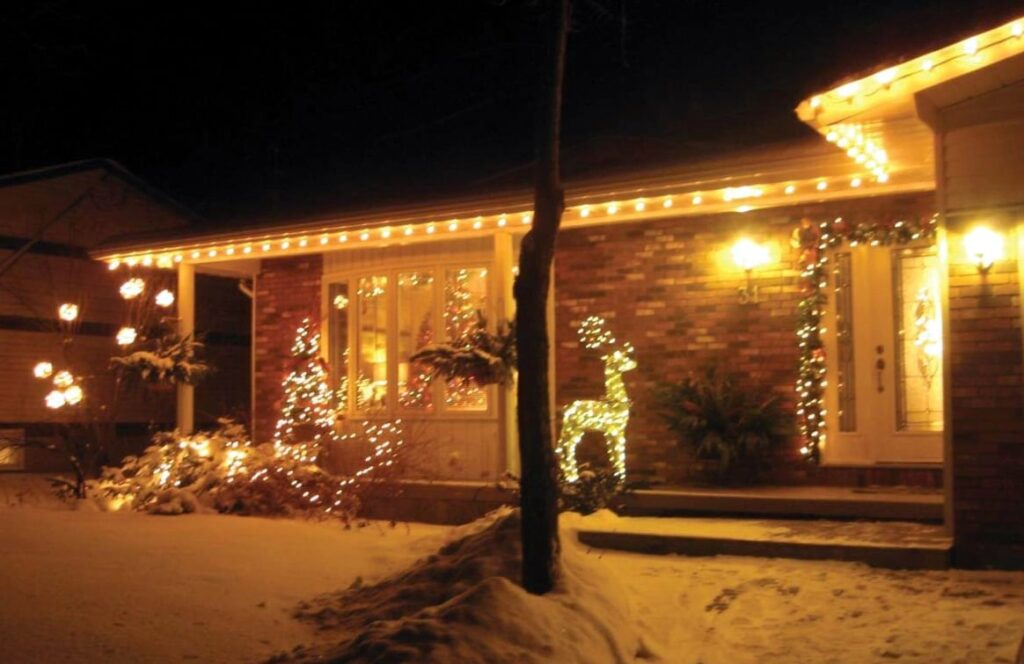 Christmas in Carleton Place House Tour Christmas decorating ideas bungalow winter