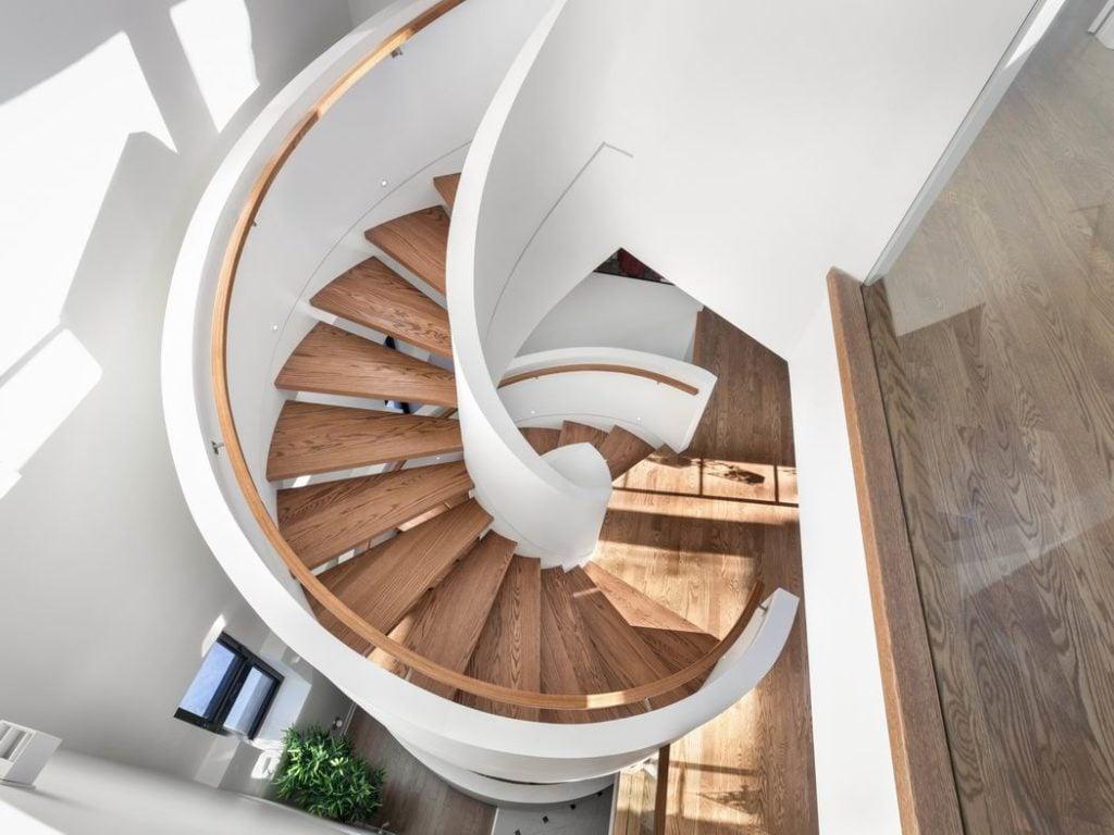 2019 Housing Design Awards Ottawa design awards Ha2 Architectural Design & RND Construction circular staircase Ottawa custom homes