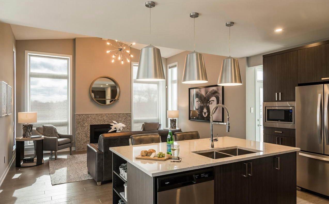 Ottawa new homes Cardel Homes Miller's Crossing model homes Cornell single-family home