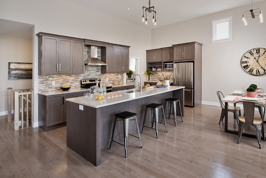 Clarence Crossing model homes