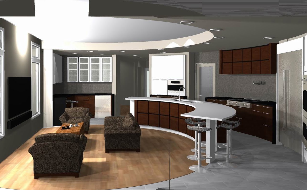 kitchen concept curved