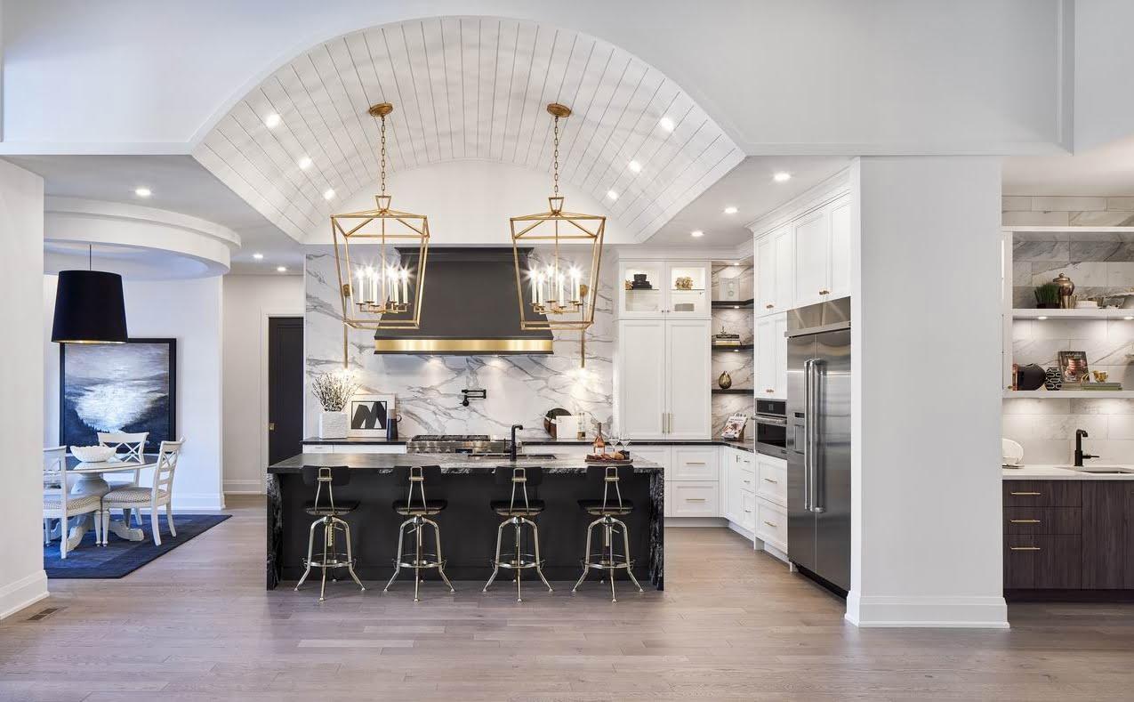 2019 NKBA awards barrel-vaulted ceiling Ottawa kitchen