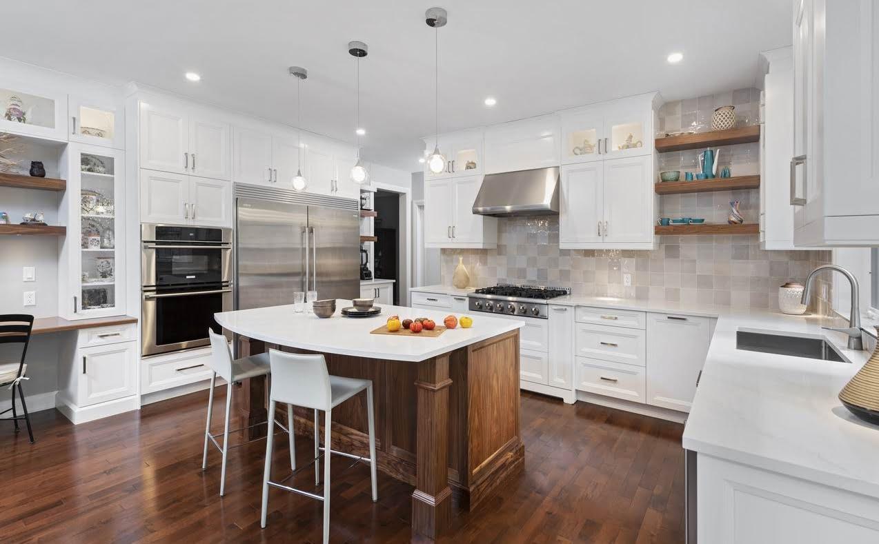 Ottawa white kitchen