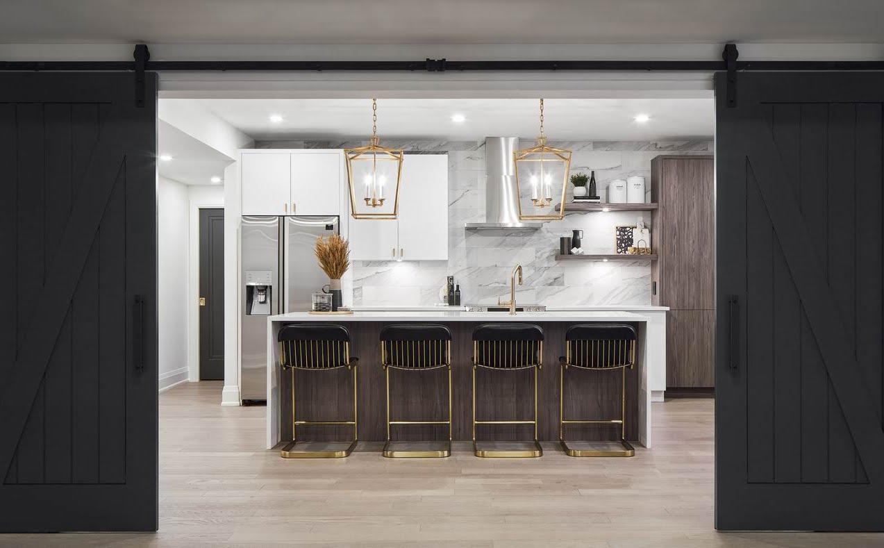 Ottawa kitchen barnboard