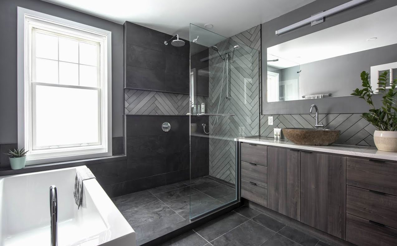 2019 NKBA awards Ottawa bathroom walk-in shower