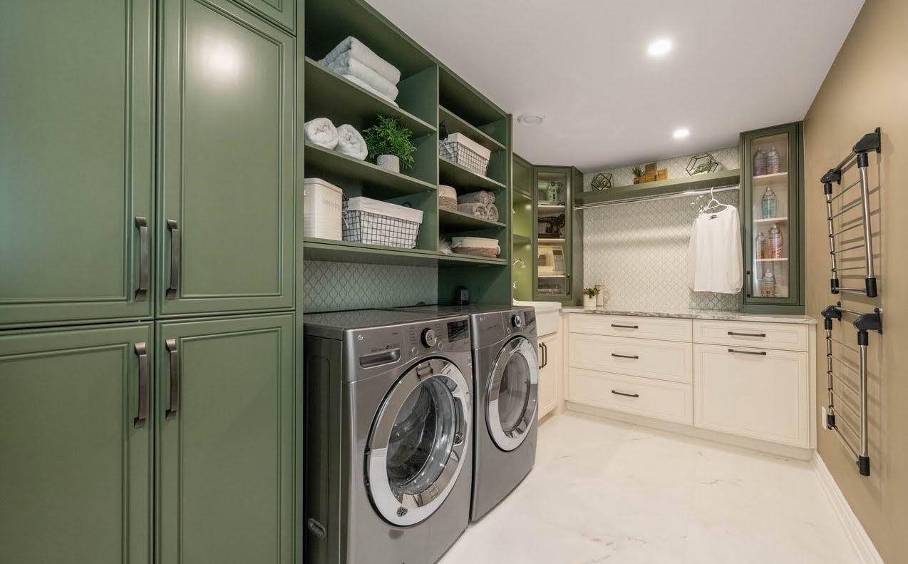 Ottawa laundry room