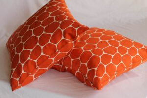 DES throw pillows