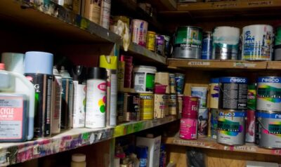 Homeowner Helpers Storing paint and other flammables