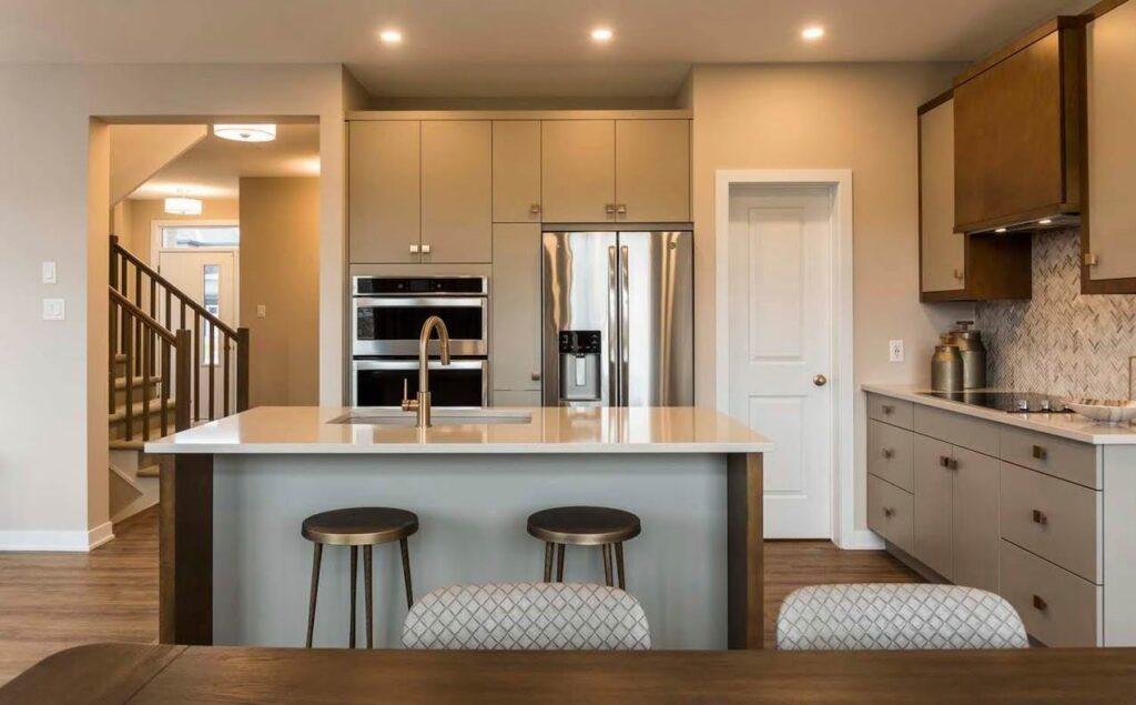 Ottawa new homes kitchen