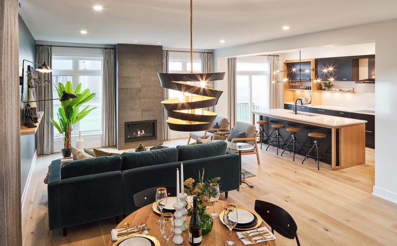 EdenWylde models Ottawa new homes open concept