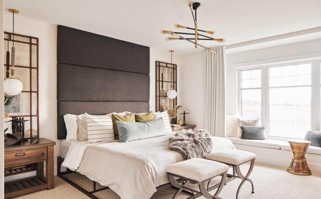Ottawa new homes bedroom headboard