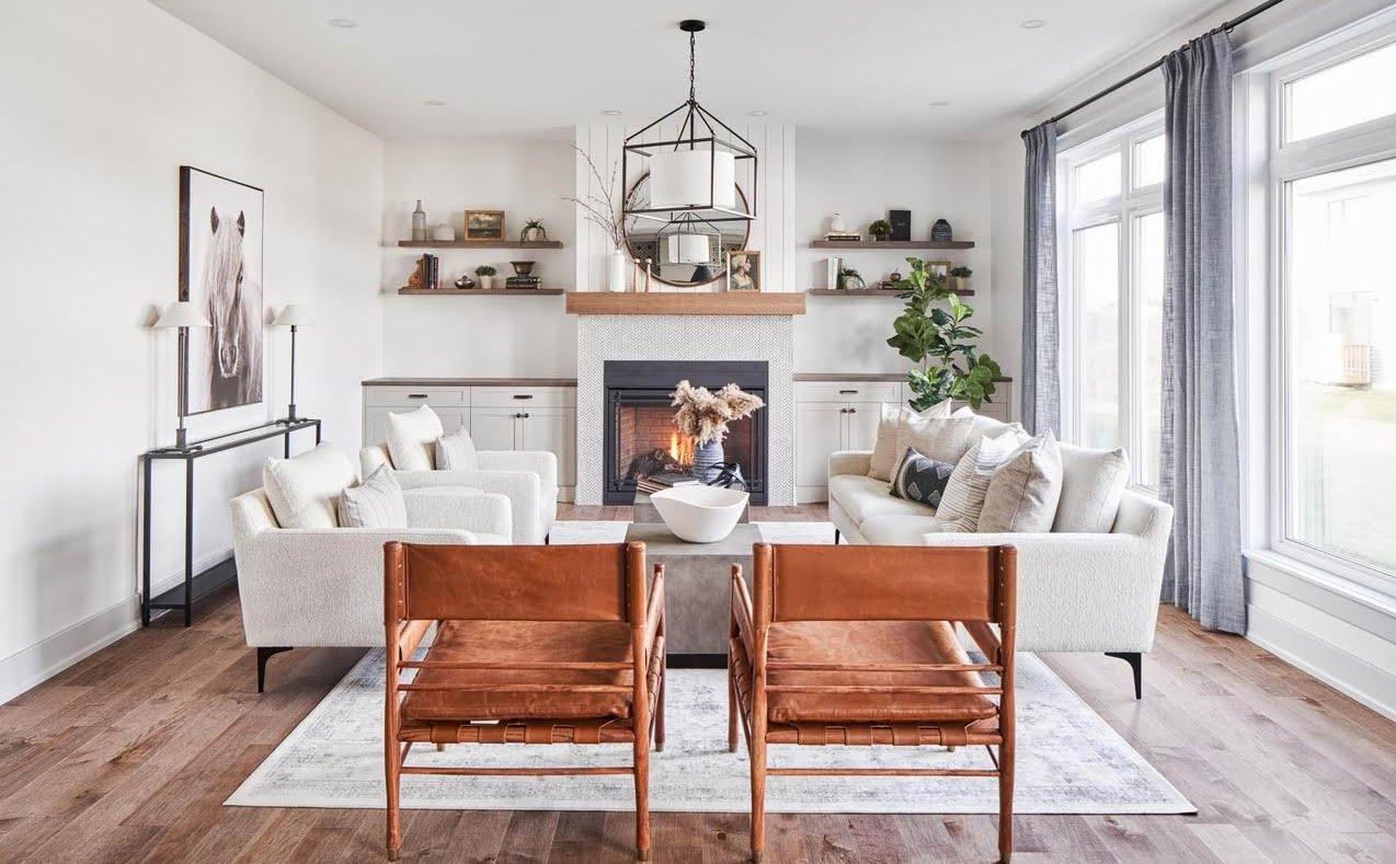 EdenWylde models Ottawa new homes living room