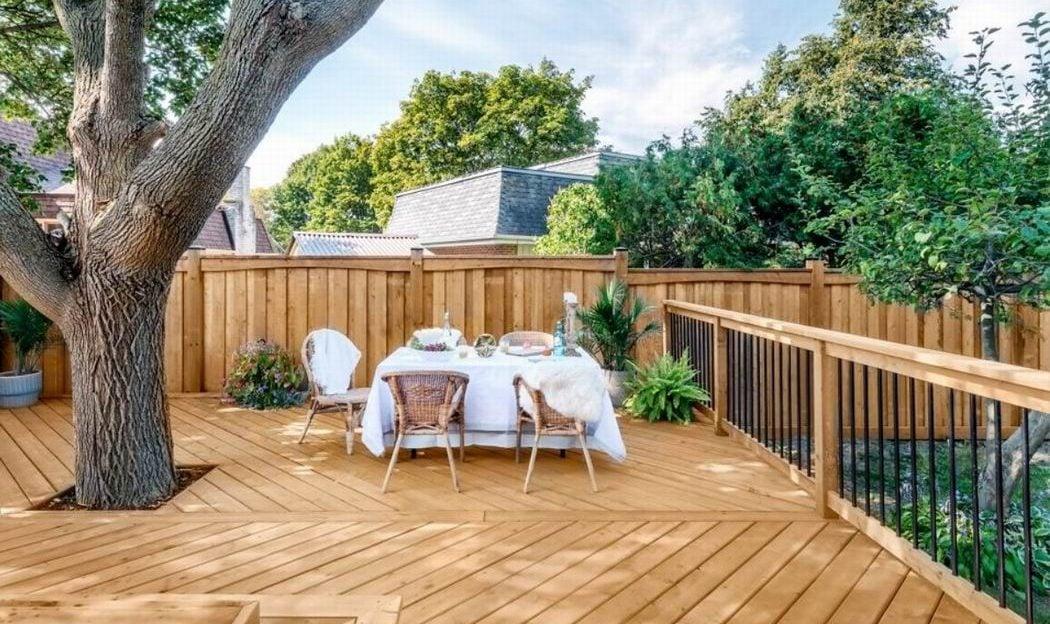 GAR wood deck Carson Arthur