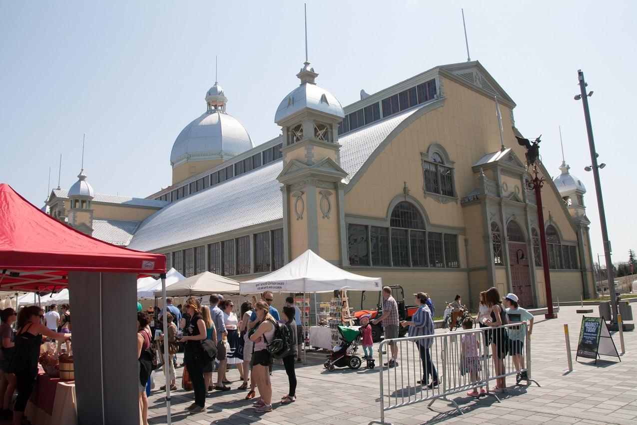 The Glebe Ottawa Lansdowne Park Aberdeen Pavilion