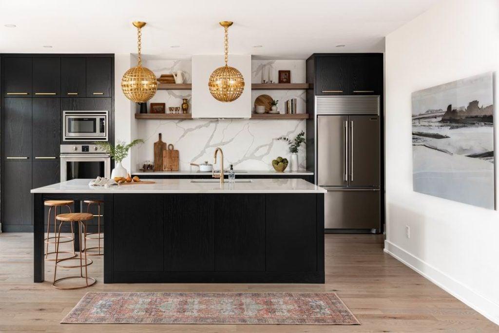 Ottawa new homes Glenview Homes the Blakely Barrhaven kitchen