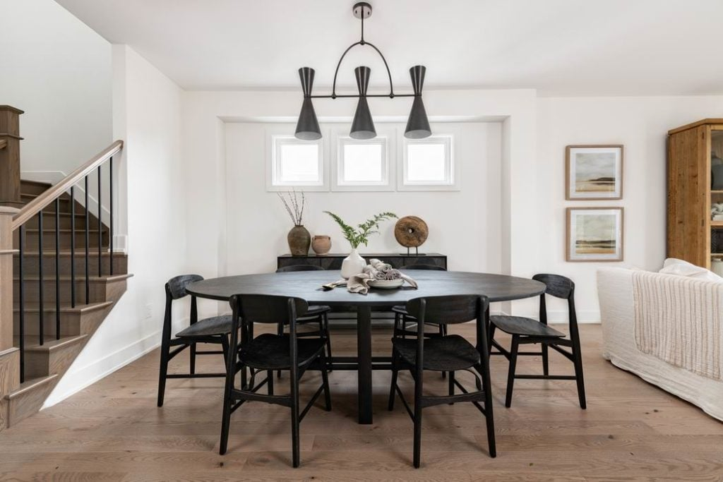 Ottawa new homes Glenview Homes the Blakely Barrhaven dining room