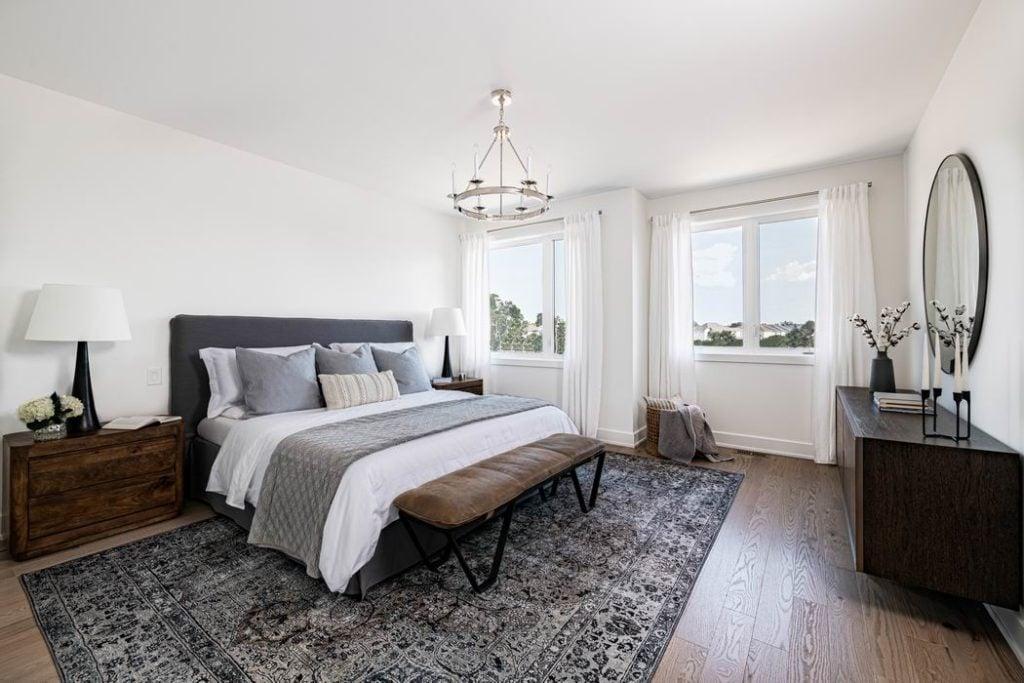 Ottawa new homes Glenview Homes the Blakely Barrhaven master bedroom