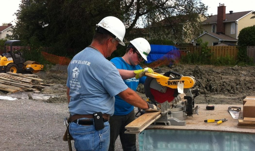 On The Job Habitat For Humanity Builds In Orl Ans