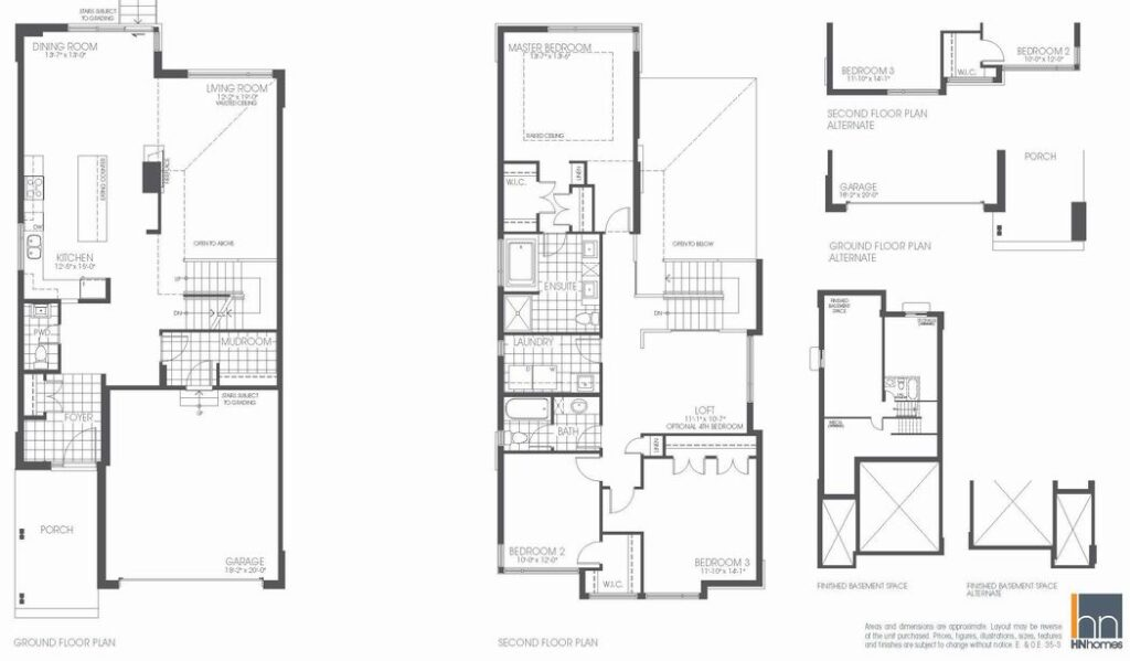 HN Homes Mayfair model floor plan