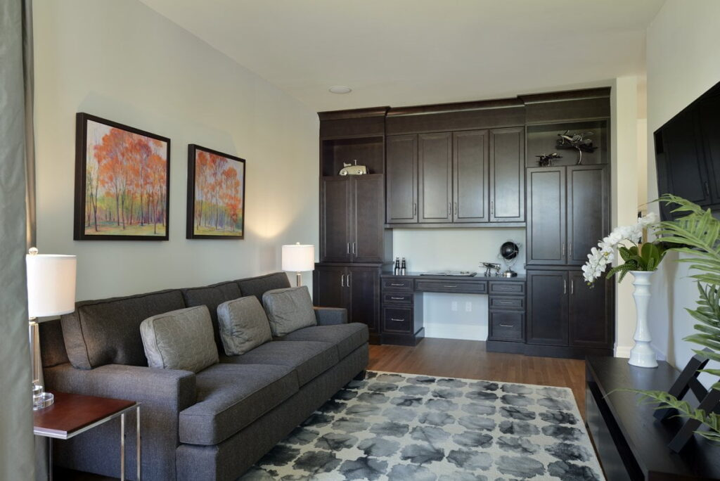 Ottawa new homes HN Homes Winfield model main-floor guest suite in-law suite