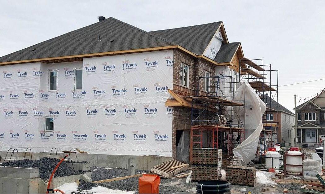 January new home sales Ottawa new home market