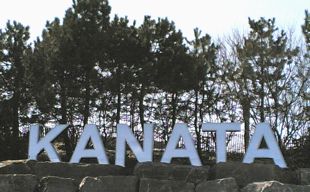 Kanata Ontario Queensway sign community profile