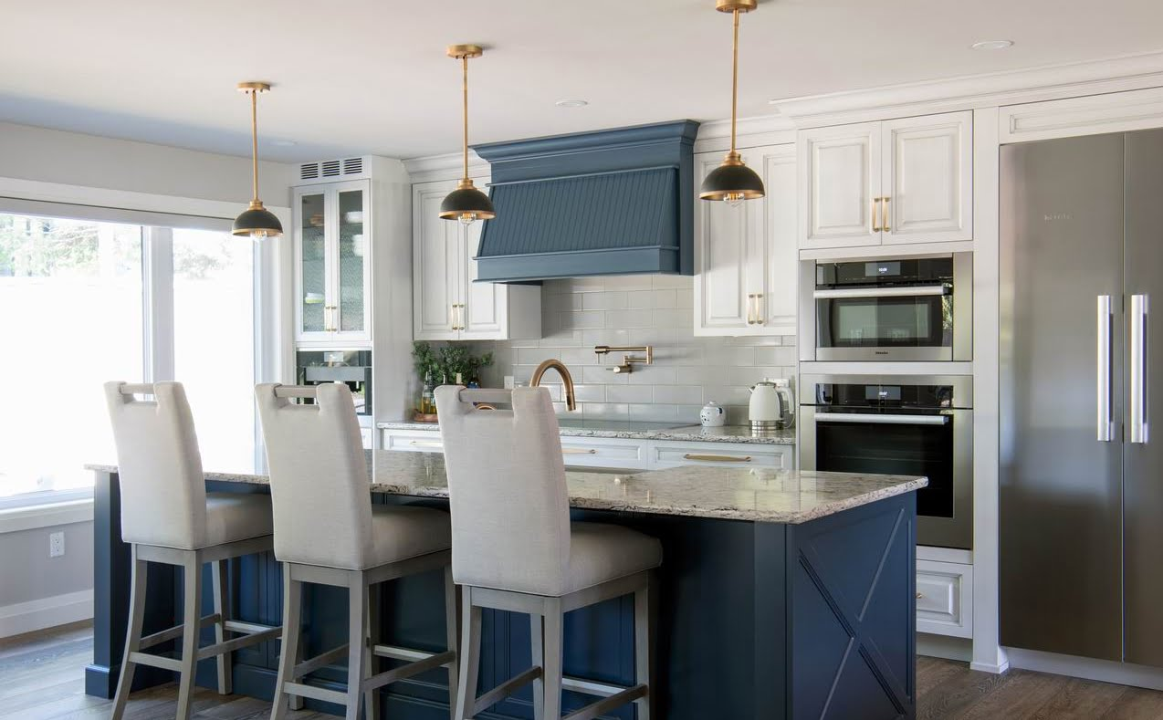 renovate in the spring renovation planning Lagois blue kitchen