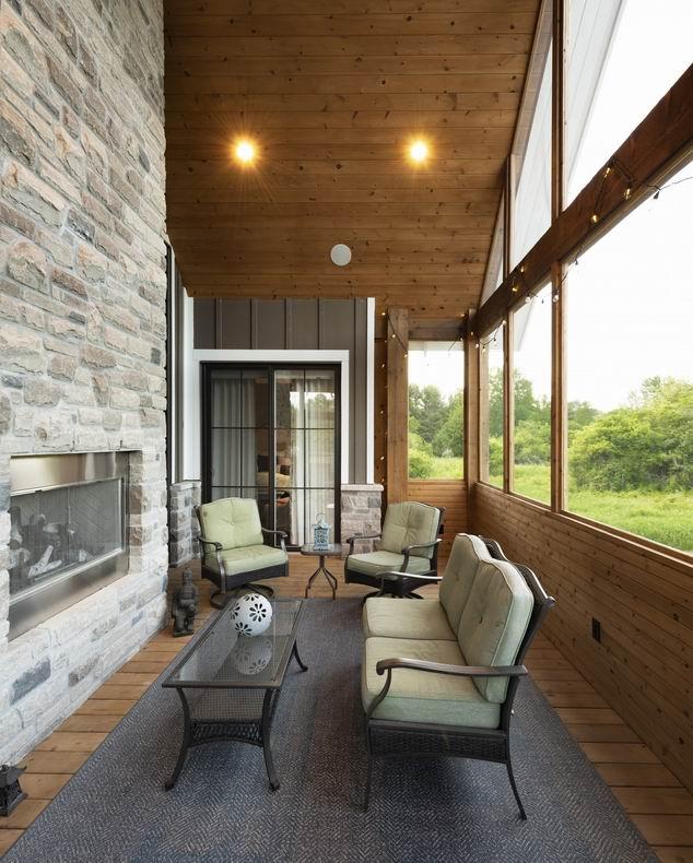 Maple Leaf Custom HOmes Ardington + Associates Design Ottawa outdoor spaces outdoor living