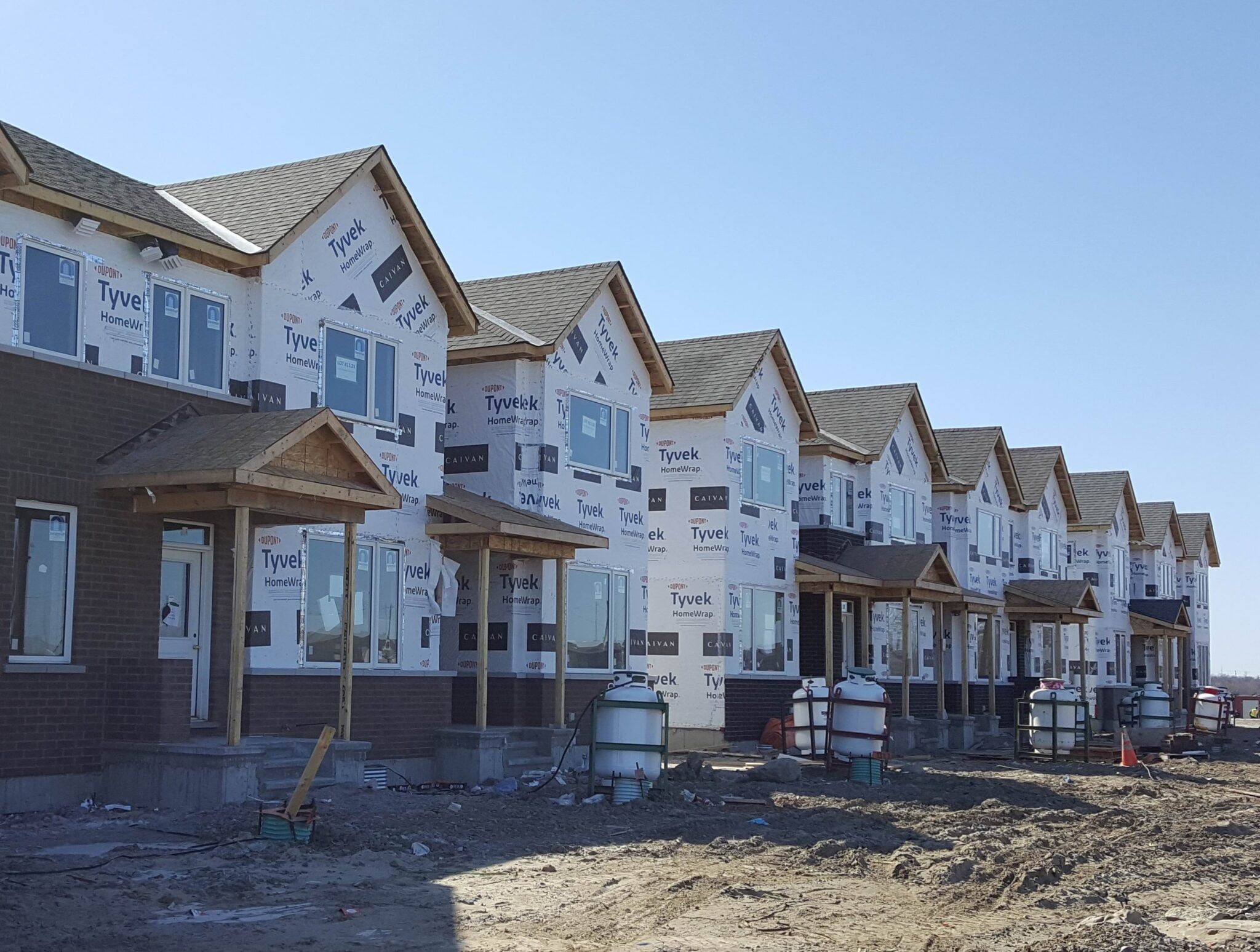 March 2021 new-homes market Ottawa construction
