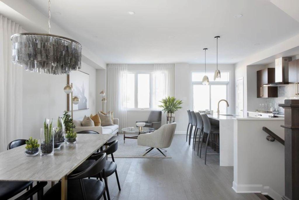 Quinn's Pointe & Harmony model homes