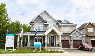Minto dream home CHEO Dream of a Lifetime Lottery facade Ottawa new homes