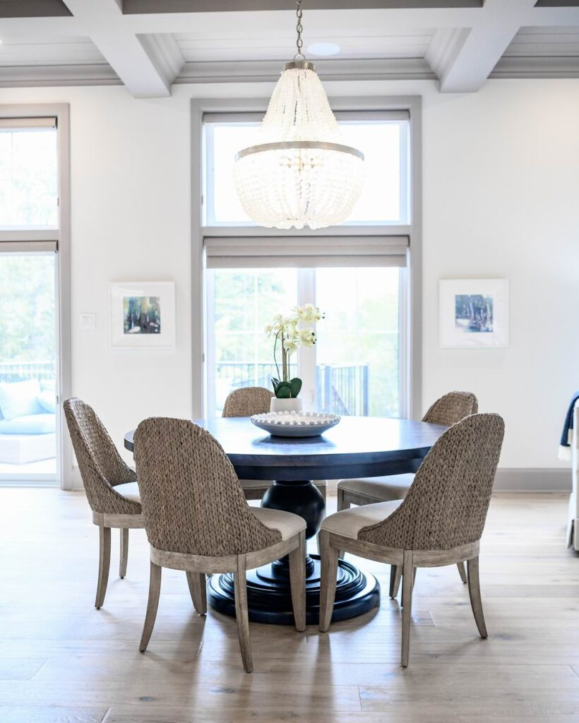 Minto dream home CHEO Dream of a Lifetime Lottery kitchen dining table