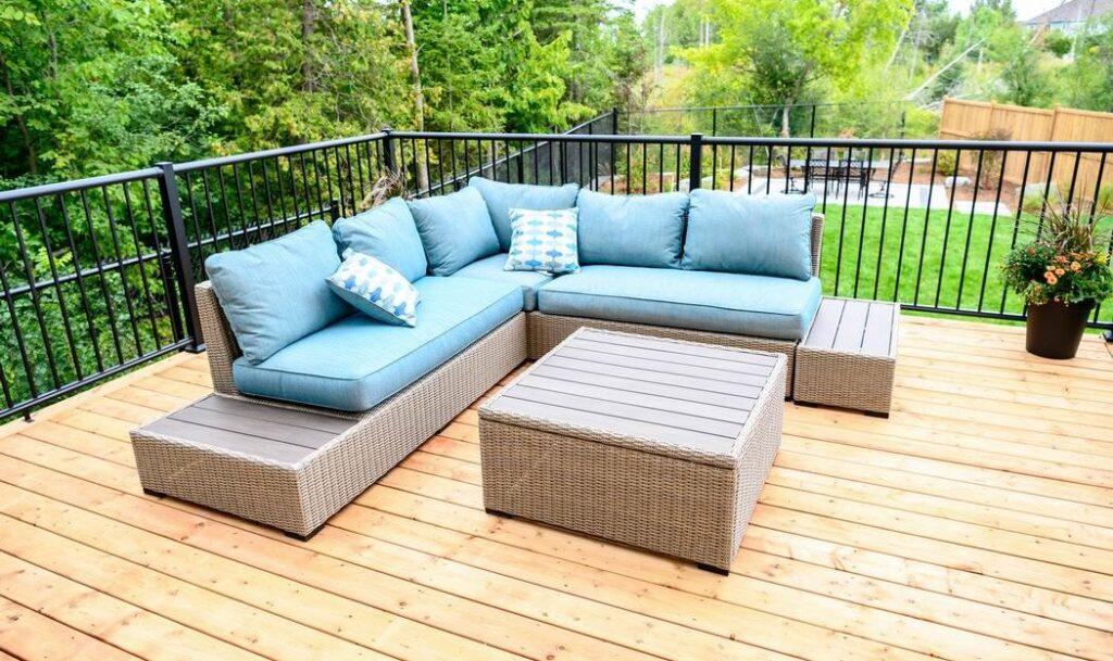 Minto dream home CHEO Dream of a Lifetime Lottery backyard deck furniture