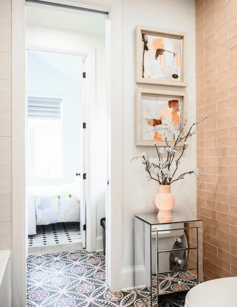 Minto dream home CHEO Dream of a Lifetime Lottery jack and jill bathroom