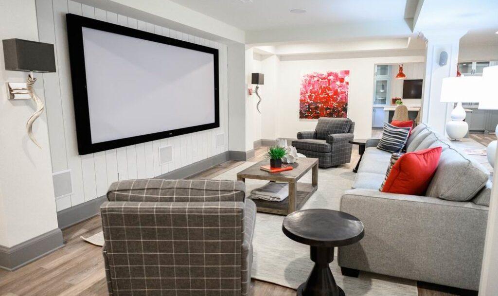 Minto dream home CHEO Dream of a Lifetime Lottery media room TV room