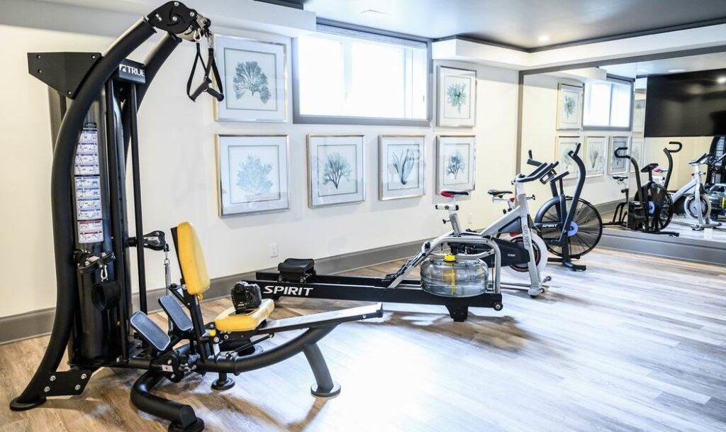 Minto dream home CHEO Dream of a Lifetime Lottery home gym