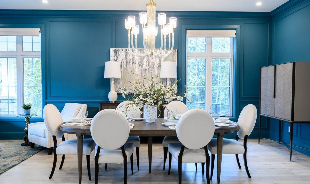 Minto dream home CHEO Dream of a Lifetime Lottery dining room Dulux Vining Ivy