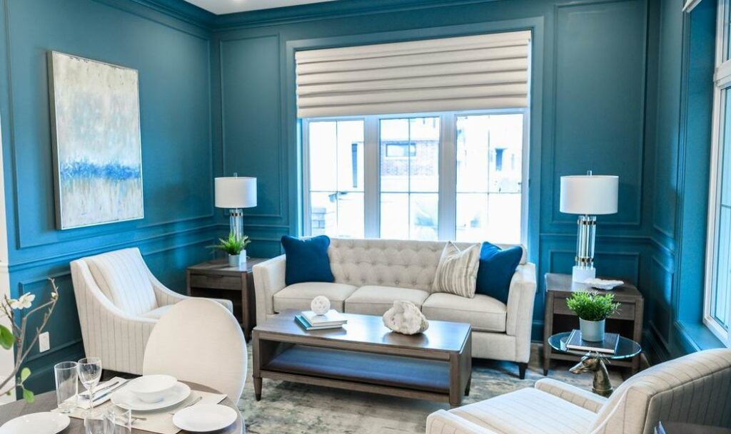 Minto dream home CHEO Dream of a Lifetime Lottery living room Dulux Vining Ivy