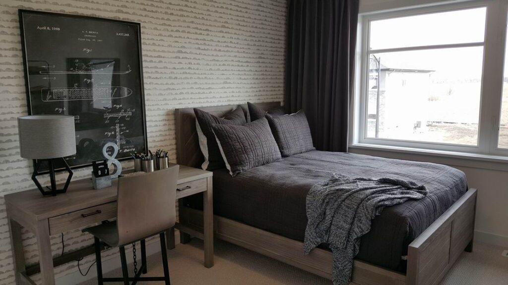 Nichols model home Cardel Homes Creekside Richmond bedroom kids room