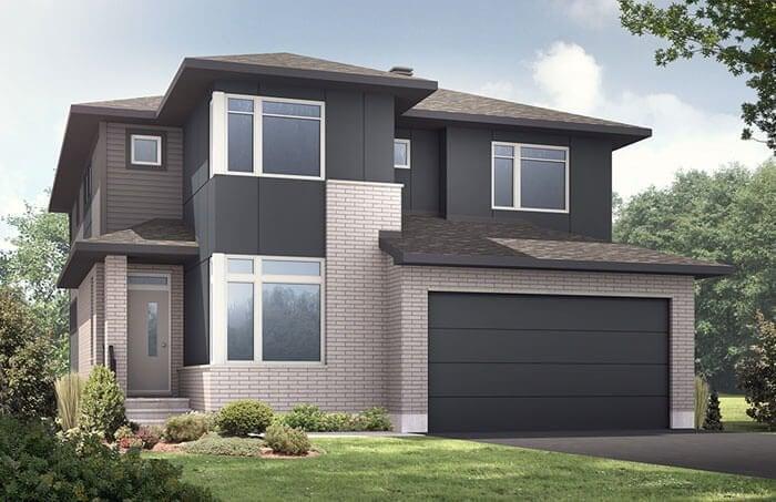 Nichols model home Cardel Homes Creekside Richmond