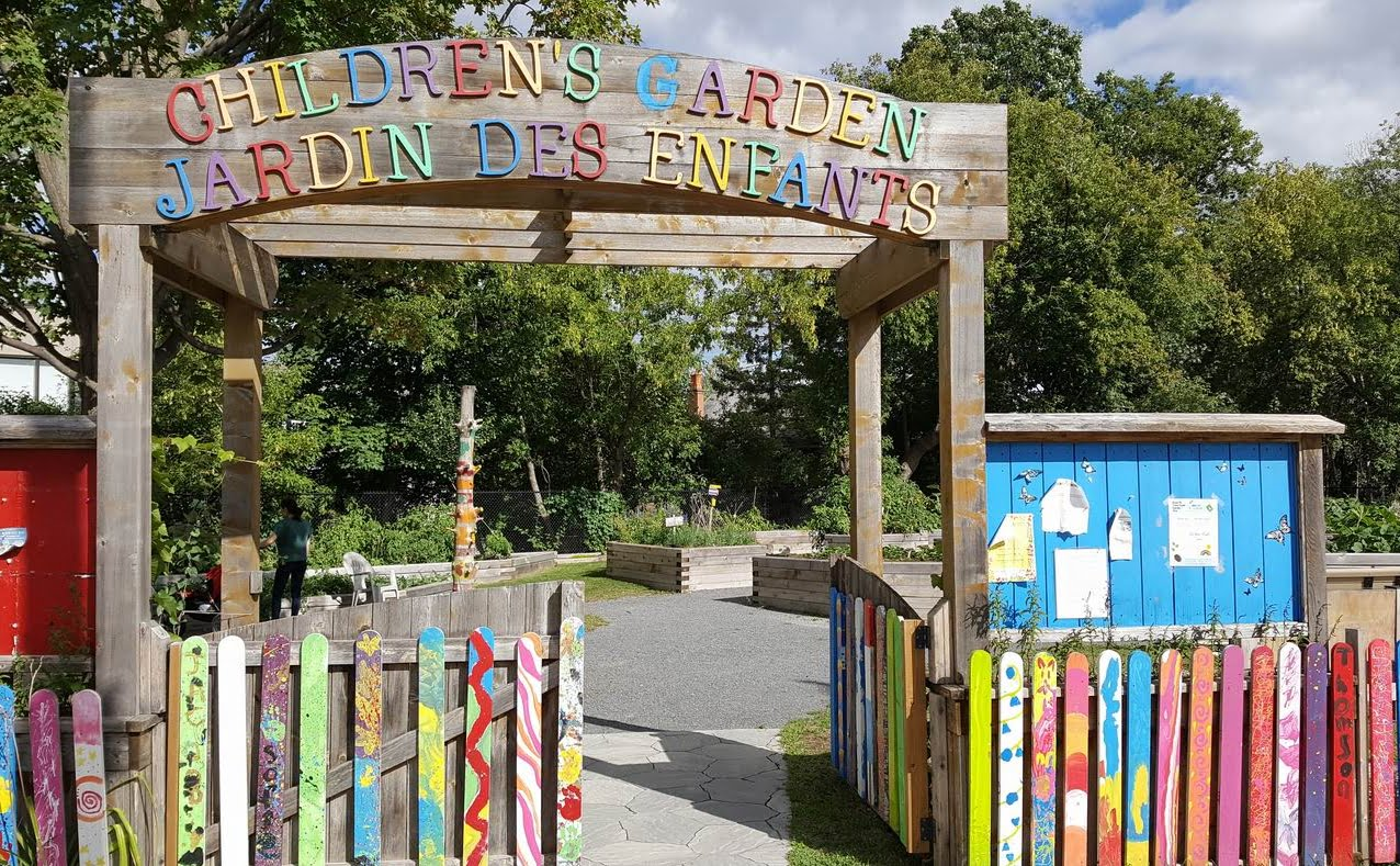 Old Ottawa East community profile children's garden