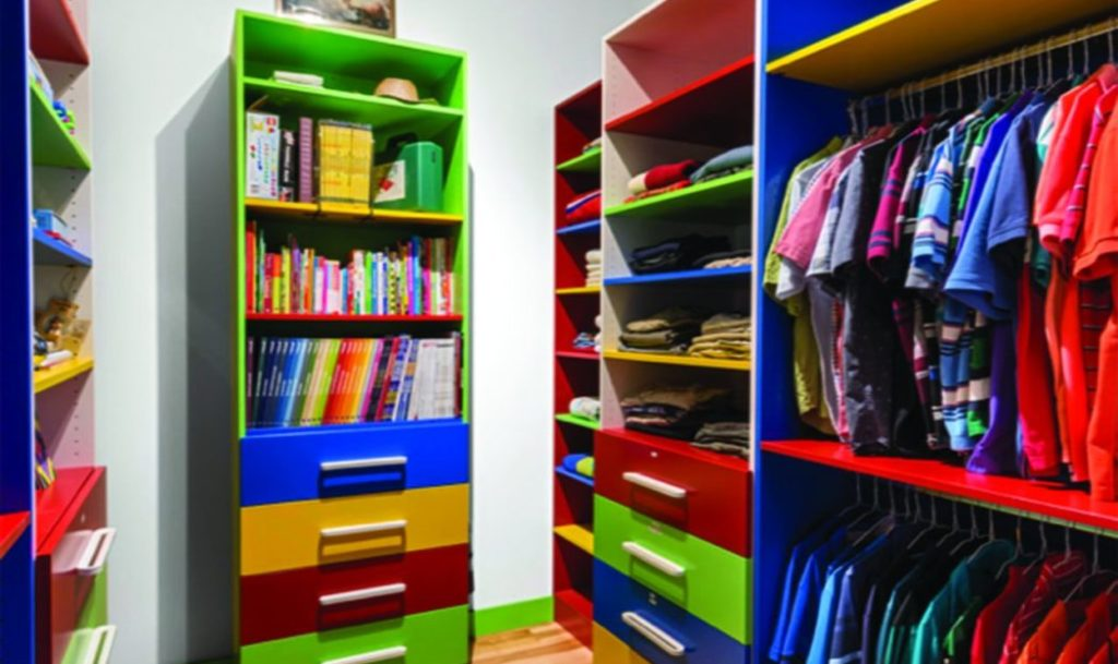 Closet makeover Laurysen Kitchens