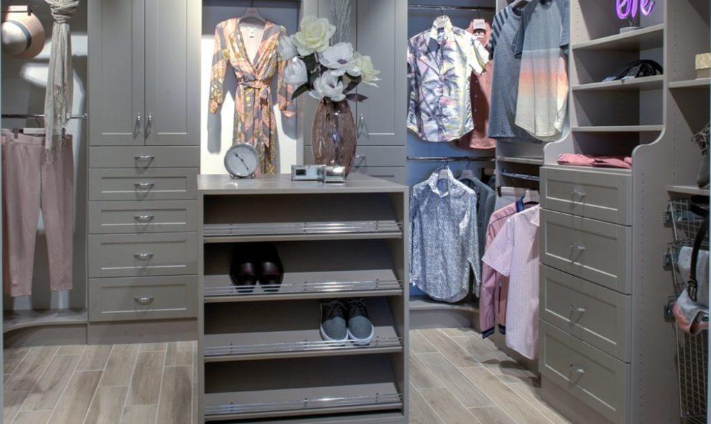 Closet makeover Dymon Storage