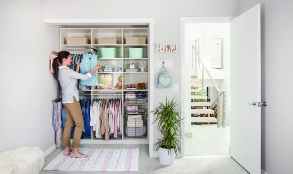Closet makeover Tailored Living