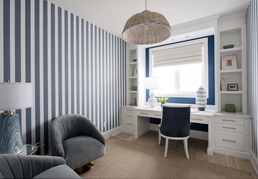 Pantone colour of the year Classic Blue Minto Communities Minto dream home office