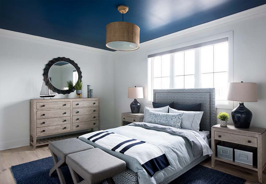 Pantone colour of the year Classic Blue Minto Communities Minto dream home boy's bedroom